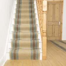 Natural Fibres Striped Rug & Carpet Runners