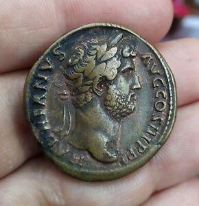 Sestertius of Hadrian, Aequitas,  g24.11 mm31