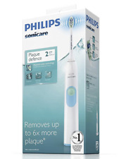 Philips HX6231 Sonicare 2 Series Electric Toothbrush White - NEW - FREE POSTAGE