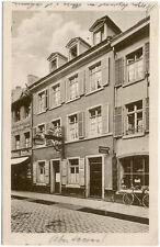 Freiburg i. Br Maison d'hôtes pour RÖSSLE, S largeur CARTE POSTALE pris 1927
