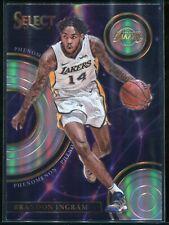 2017-18 Panini Select Basketball Card #P-4 Phenomenon Brandon Ingram Lakers