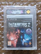 NEW SEALED INFAMOUS 2 PS3 SONY PLAYSTATION 3 VGA / UKG GRADED 95 UNCIRCULATED