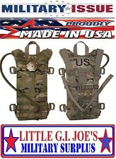 NEW MOLLE II Multicam Hydration System Carrier / 100 oz 3L Bladder Bag Back Pack