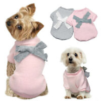 Cute Warm Dog Jumper Sweater Pet Puppy Knitwear Apparel Soft Cat Knitted Clothes