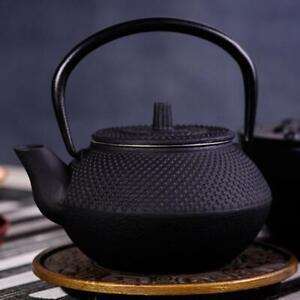 Teapot Iron Pot Mini Cast Iron Kettle Teapot Tea Set Dropshipping