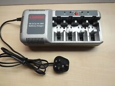Uniross 4x NiCd NiMH Battery Charger for AAA, AA, C, D, 9V 380mA UK plug
