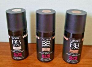 GOSH - BB Cream - All in One - Choose Shade - 15ml - New - Free p&p