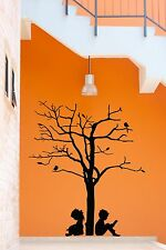 Wall Stickers Vinyl Decal Tree Branch Boy And Girl Love Romantic Decor  (z2094)