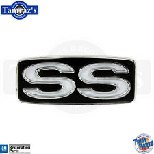 "1969 Chevrolet Steering Wheel Horn Pad Button  "" SS ""  Emblem  -  USA"