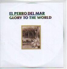 (796B) El Perro del Mar, Glory to the World - DJ CD