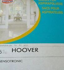 255 INTERFILTER 5 sacs pour aspirateur HOOVER SENSOTRONIC