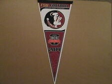 NCAA FSU Football 2014 VIZIO BCS Logo Football Pennant