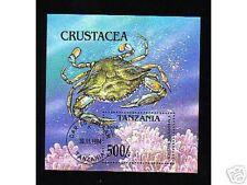 0211++TANZANIE  BLOC N°1  CRUSTACE 1994