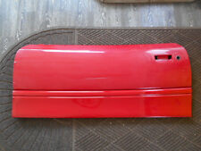 91-96 Saturn S Series SC Left Driver Door Panel Red WA9652