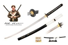 "40"" Kill Bill Full Tang Handmade Budd Katana Sword Signed By Michael Madsen Xmas"
