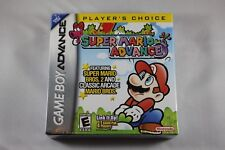 Super Mario Advance PC Player (Nintendo Game Boy Advance GBA) NEW Factory Sealed