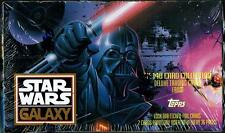 1993 TOPPS STAR WARS GALAXY SERIES 1 FACTORY SEALED 36 PK TRADING CARD BOX NM/MT