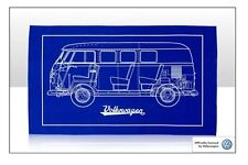 VW T1 Cross Section Tea Towel - VW Licensed Product