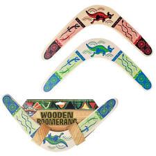 14.5 Wooden Boomerang Flying Kids Toy Outdoor Recreational Games