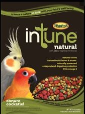 Higgins Intune Conure Cockatiel pellet diet bird food 2lb
