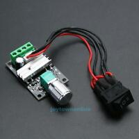 6V 12V 24V 3A PWM DC Motor Speed Controller Forward Reverse With Switch New