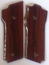 SMITH & WESSON MODEL 59 GRIPS WITH COCOBOLO ROOT WOOD A-18 L@@k