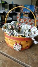 Longaberger Rare, Retired Rings & Things Mother's Day Basket