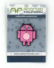 Pinkey Collectible Enamel Lapel Pin Andrew Bell Android Foundry