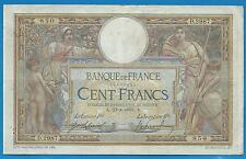 GERTROLEN  Billet 100 FRANCS  Luc Olivier Merson 23-8-1915  D.2987