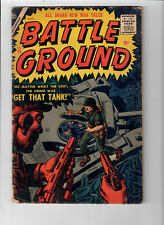 BATTLE GROUND #19 - Grade 4.0 - Silver Age war stories! Gene Colan art!