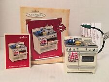 HALLMARK Keepsake 2004 CHRISTMAS COOKIES Baking Oven SCENTED ORNAMENT Light