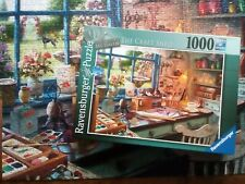 Ravensburger The Craft Shed 1000pieces - Used Once