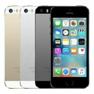 APPLE i Phone 5S 16GB / 32GB / 64GB - Unlocked - Grey Gold Silver Unlocked