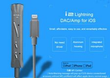 Portable Lighting Headphone Amplifier with Microphone for IOS iPhone DAC Decoder
