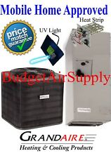 5 ton 14 SEER ICP/Carrier-MOBILE HOME APPROVED A/C Split System+UV+HeatStrip+++