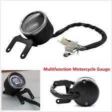 Motorcycle LCD Digital Odometer Speedometer 12000RPM Tachometer Gauge MPH KM/H