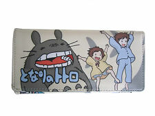 Studio Ghibli My Neighbour Totoro Long Wallet Coins Purse Anime Card Holder Bag