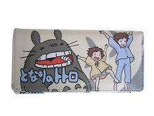 Studio Ghibli My Neighbour Totoro Long Wallet Coins Purse Anime Card Holder Bag