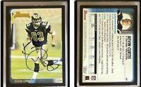 Kevin Curtis Signed 2003 Bowman #129 RC Card St. Louis Rams Auto Autograph