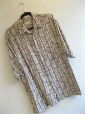 PIERRE CARDIN | Men's RETRO Wavy Bamboo Crazy RAYON Summer Party Shirt | L