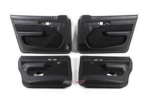 Audi 100/S4/A6/S6 C4 Türverkleidungen 4x e-Fensterheber anthrazit