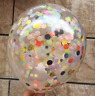 20pcs Colorful Confetti Balloon Birthday Wedding Party Latex Helium Balloons Lot