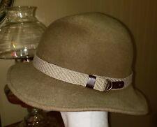 73893205ae3 DORFMAN PACIFIC men s women s 6 unisex Fedora hat Wool Olive GUC