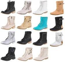 Markenlose Damenschuhe im Stiefeletten-Stil ohne Verschluss