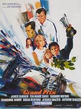 GRAND PRIX Movie POSTER 11x17 French James Garner Eva Marie Saint Yves Montand