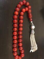 Misbaha Amber Stone Prayer Beads
