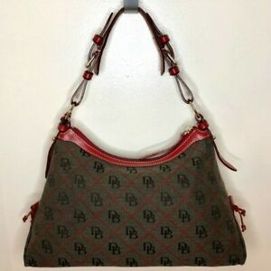dooney bourke handbagsDooney & Bourke Hobo Bag Shoulder bag in gray signature