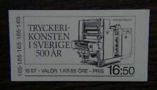 Sweden 1983 500th Anniversary of Printing in Sweden Booklet MNH