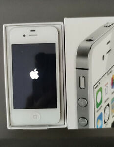 Unlocked Apple iPhone 4S -8/16/32/64 GB White iOS 9 3G WIFI Smartphone sealed