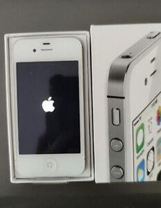 Unlocked Apple iPhone 4S -8/16/32/64 GB White iOS 9 3G WIFI Smartphone sealed